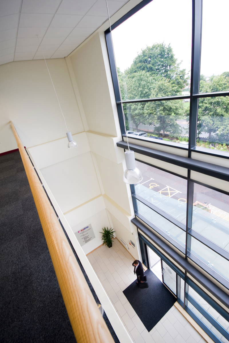 Colwyn Bay Office Foyer